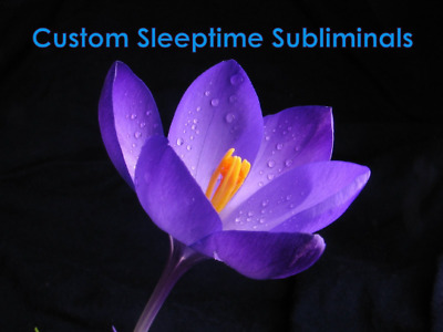 8 HOUR LONG Custom Sleep and Meditation WHISPERED SUBLIMINAL Hypnosis Mp3