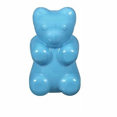 JW Pet MEGALAST GUMMI BEAR Rubber Chew Fetch Squeaky Dog Toy LARGE 5-inch