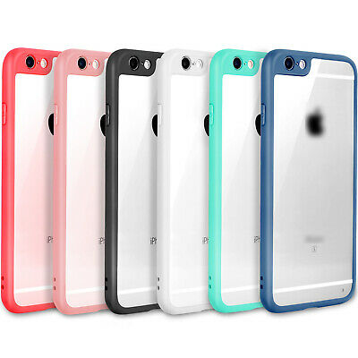 SLIM THINNEST Crystal Clear Bumper TPU Ultra Thin Case Cover iPhone 6 7 8 Plus