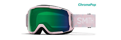 6a7fd74fc125 Smith Optics Grom Snow Goggles - Pink Paradise  Chromapop Everyday Green  Mirror