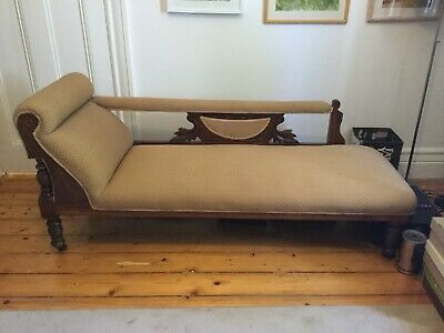 Antique chaise lounge, longue.  Excellent condition