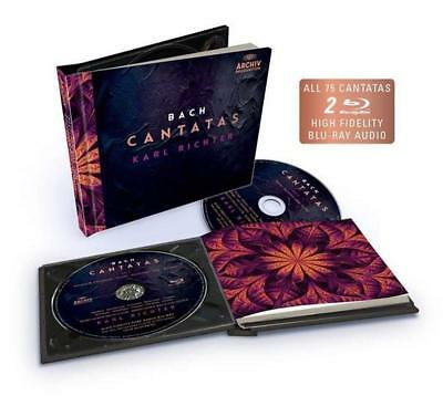 Bach Cantatas (Limited Edition ) - Karl Richter  Blu-Ray+Cd  New