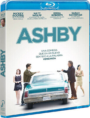 Ashby NEW Cult Blu-Ray Disc Tony McNamara Mickey Rourke Emma Roberts Nat Wolff