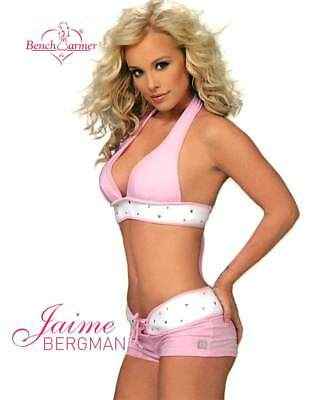 Jaime Bergman 1 of 8 2004 Bench Warmer Series One Jumbo 4x5 Box Topper