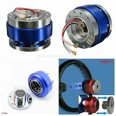 Universal Racing Steering Wheel 6-Hole Bolt Ball Bearing Quick Release Kit