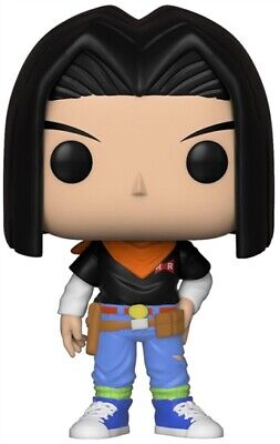 Funko Pop! Animation: Dragon Ball Z - Android 17 Toy, Multicolor, New