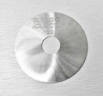 "Jewelers Slotting Saws Malco Saw Blade 2"" High Speed Circular Saw Blades 0.022"""