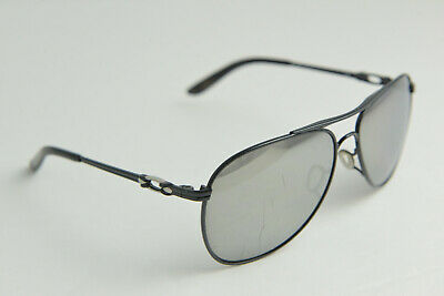2c7749df32 Oakley DAISY CHAIN Metallic Black Chrome Iridium Polarized OO4062-15 Aviator