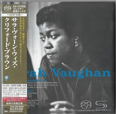 SHM SACD SARAH Vaughan with Clifford Brown Limited Edition