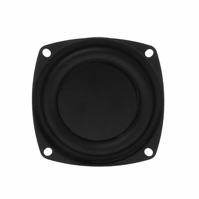 2PCS Woofer Radiator Passive Bass Loudspeaker Diaphragm Vibration Plate DIY