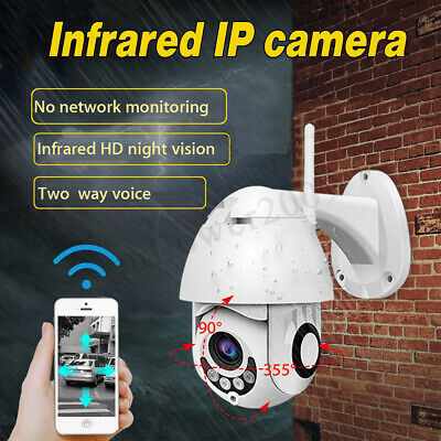 ❤ 1080P Wireless WIFI IP Camera Outdoor Night Vision Home Security Two-way Voice