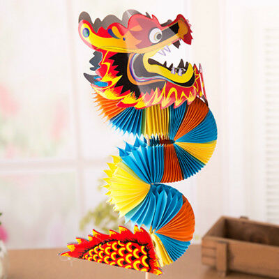 Dragon Design Dance Paper Lantern Chinese New Year Festival Decor Toy Lamp Hang