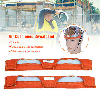2PCS Cotton Welding Helmet Replacement Sweatband Sweat Band Hard Hat Headgear UK