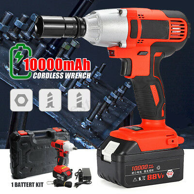 330Nm 10000mAh Electric Cordless Impact Wrench Powerful Tool High Torque Drill