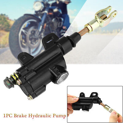For Motorcycle ATV Dirt Pit Bike Rear Hydraulic Foot Brake Master Cylinder