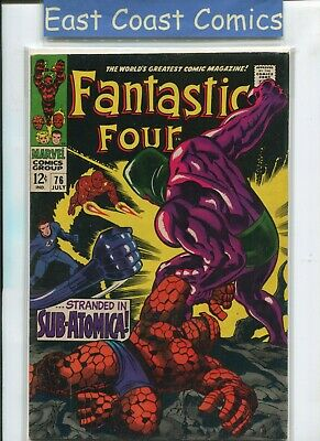 Fantastic Four #76 -  (Very Fine Minus 7.5) Silver Age Marvel