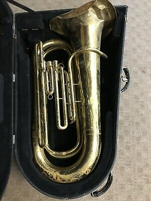 KING TUBA  w/Case GREAT OPPORTUNITY NEEDS TLC