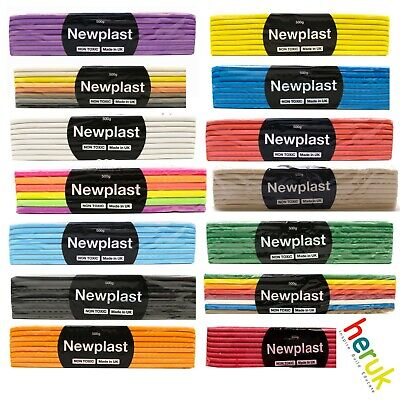 Newplast 500g - Plasticine Alternative, Non Hardening Animation / Modelling Clay