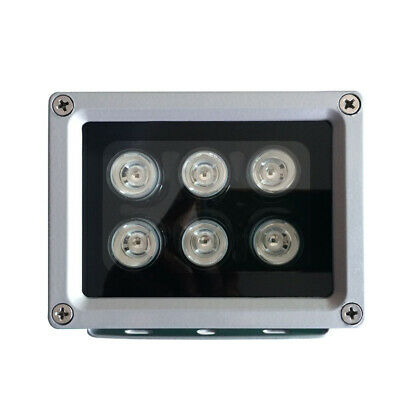 6 Led CCTV Camera Fill Light Night Vision IlluminatorIR Outdoor Infrared Lamp