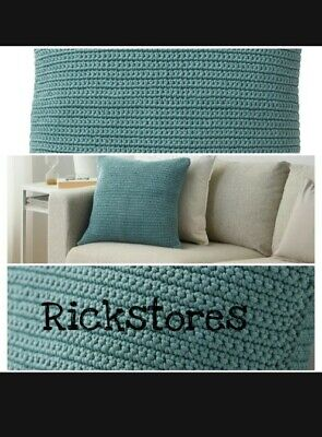100/% Cotton Herringbone Throw or Cushion Cover by Rapport Three Colour Ways