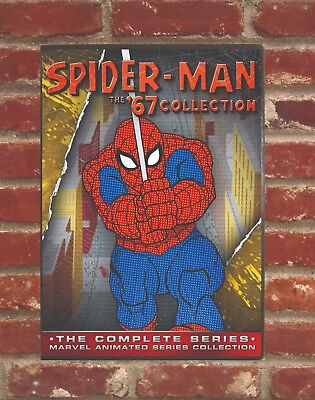 Spider-man The 67' Animated TV Series All Episodes On 6 DVDs