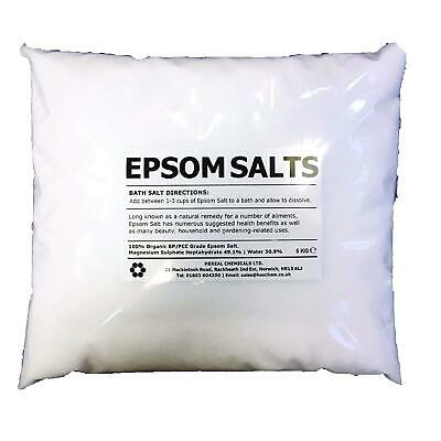 10KG BAG Epson Salt 100% Pharmaceutical FCC Food Grade Magnesium Sulphate Bath