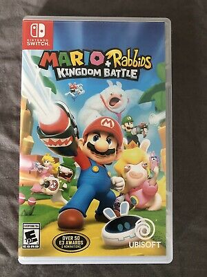 Mario Kart Deluxe 8 Pokken Tournament Dx Mario Rabbids Kingdom Switch Cases Only Video Games & Consoles