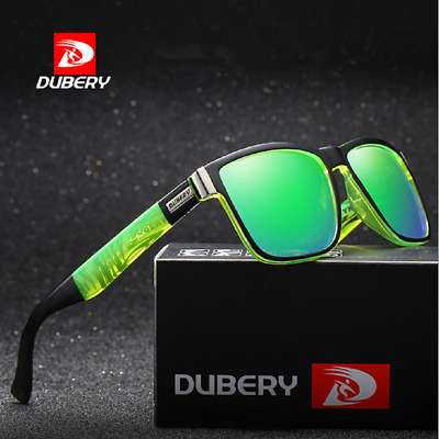 DUBERY D518 Men Polarized UV400 Sunglasses Driving Fishing Cycling Sun Glasses !