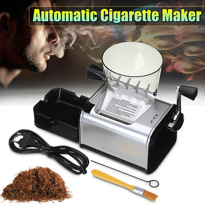Electric Automatic Cigarette Rolling Machine Tobacco Roller Maker DIY Gift