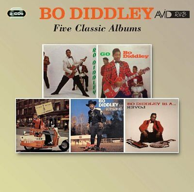 Bo Diddley - Five Classic Albums  2 Cd New