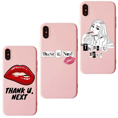 Thank U, Next Ariana Grande soft candy case For Iphone 5 6 7 8 X XR XS MAX