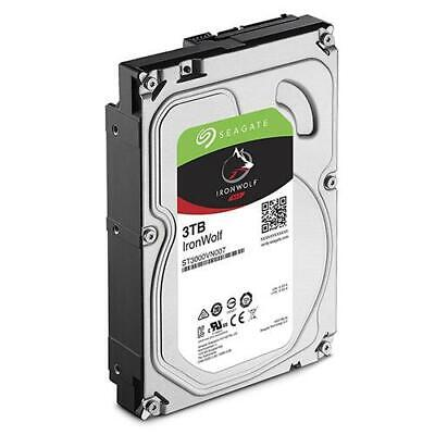 Seagate 3TB IronWolf NAS 3.5' 5900RPM SATA3 6Gb/s 64MB HDD. 3 Years Warranty