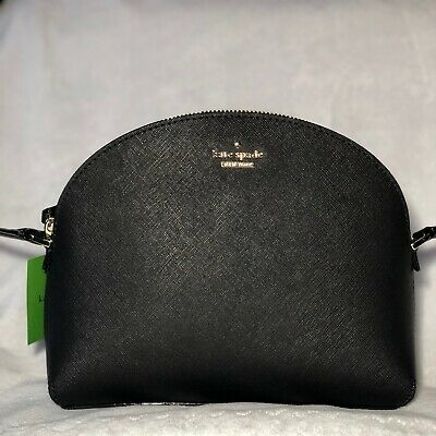 90ce32261 KATE SPADE CAMERON Street Large Hilli Black PXRU9132 Crossbody Bag ...