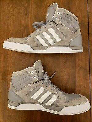 Adidas NEO Raleigh Mid Gray White Shoe US Size 11 Great Condition Free  Shipping! d7986e7fc