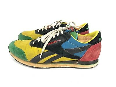 152594e13e3e ORIGINAL RARE VTG 80 s REEBOK Mens Classic Rolland Colorblock Shoes 13 ...