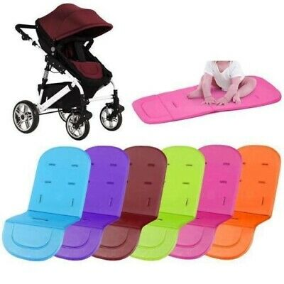 Stroller Washable Cover Pads Pushchair Car Seat Padding Pram Liner Sleep Cushion
