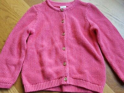 4f25e84e7 NEW H M INFANT Girls Pink Cardigan Sweater 4-6 Months Long Sleeves ...