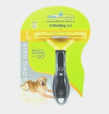 FURMINATOR DESHEDDING TOOL For Large Dog 51-90 Lbs With Long Hair *Brand NEW*