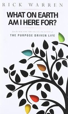 What on Earth Am I Here For? The Purpose Driven Life, Rick Warren Book (Booklet)