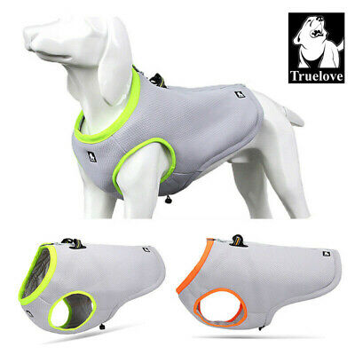 Truelove Summer Dog Cooling Vest Anti-hot Harness Reflective Air Mesh Adjustable