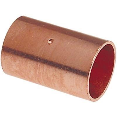 "Nibco 600 Wrot Copper Dimple Stop Coupling 3/4"" CxC - 600-DS, QUANTITY OF 25"