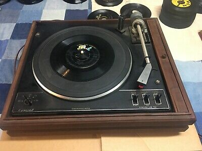 VINTAGE GARRARD SYNCHRO-LAB 72B Turntable + Original Instruction Manual  Template