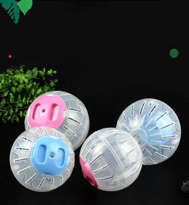 New 10/12CM Hamster Guinea Pig Exercise Running Ball Play Gyro Toy Plastic Pets
