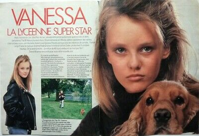 VANESSA PARADIS => COUPURE DE PRESSE 4 pages 1987 / FRENCH CLIPPING