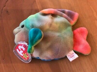 70fb9f46bd3 TY BEANIE BABY Tusk the Walrus 4th Generation Hang Tag MWMT TUCK ...