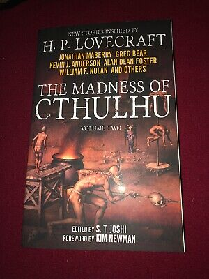 The Madness of Cthulhu Anthology Volume 2 - Inspired by HP Lovecraft, Joshi, NEW
