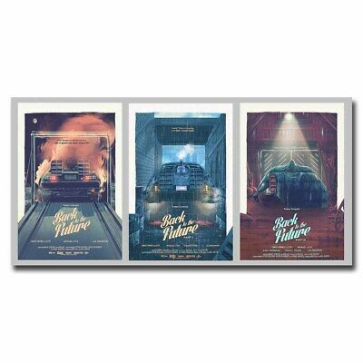 Back to the Future 24x12inch Classic Movie Silk Poster Art Print Cool Gifts