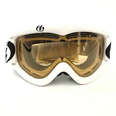 b840d038fc7 New Electric Snow Goggles Snowboarding Skiing White with Yellow Tint