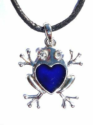 NEW Moose Color Change Heat Thermo Mood Pendant Necklace