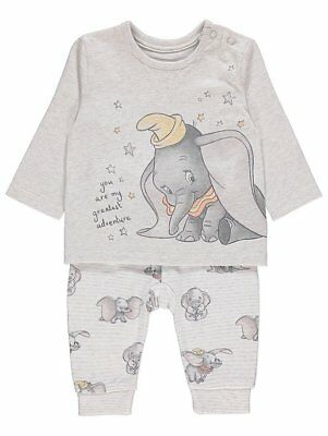 Disney Dumbo Baby Boys Outfit BNWT 2 piece set